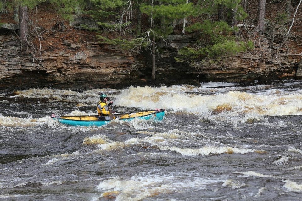 Ivan Bartha whitewater canoeing