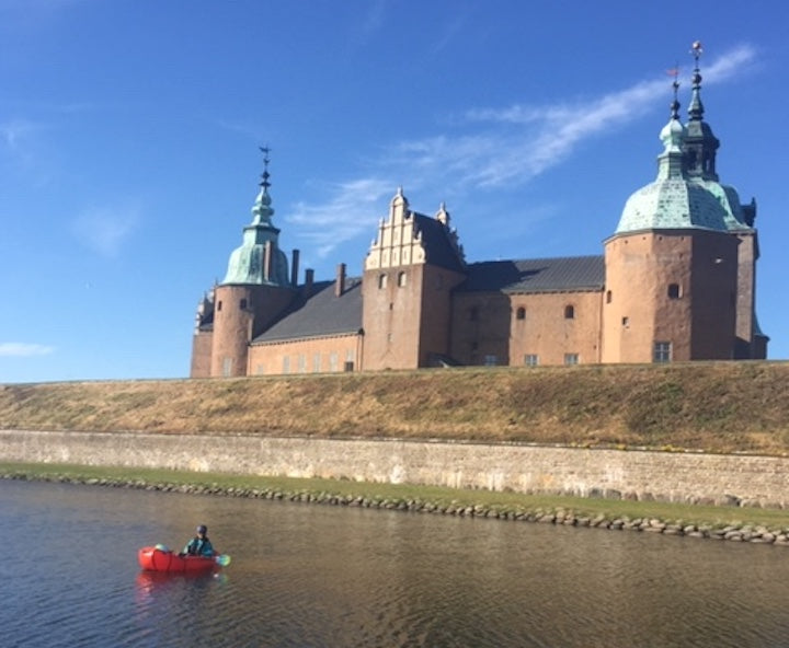 packrafting around the castle