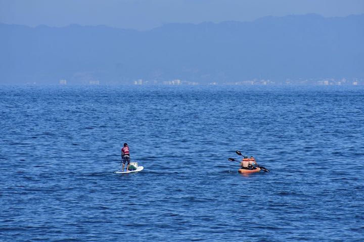kayaking banderas bay, puerto vallarta