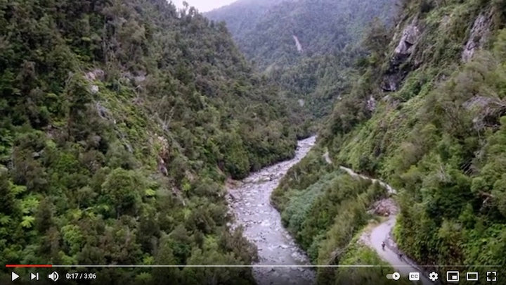 mikonui river valley, new zealand