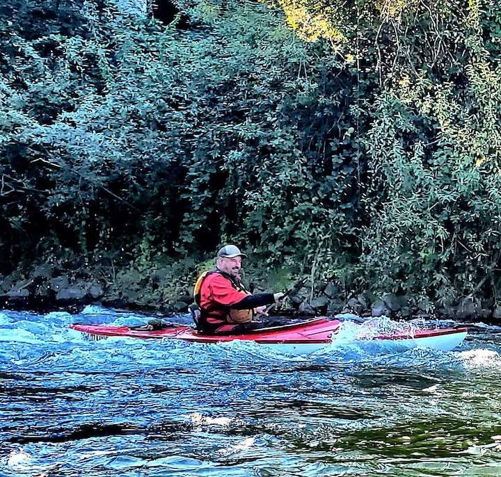 northwest kayaking founder, Mike Hedges