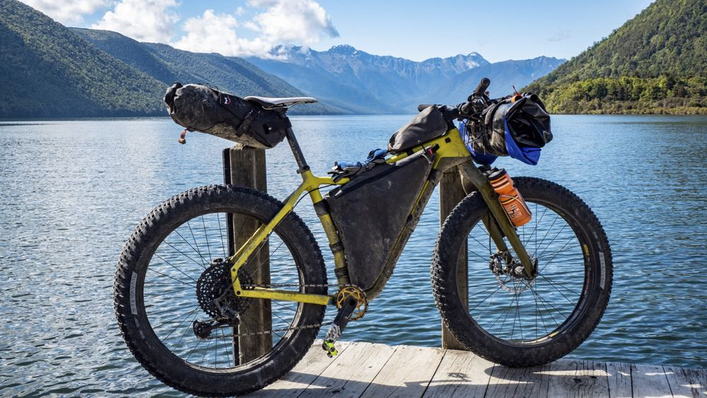 bike rigged for packrafting