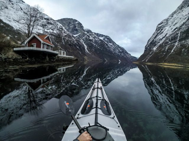 sea kayaking norway