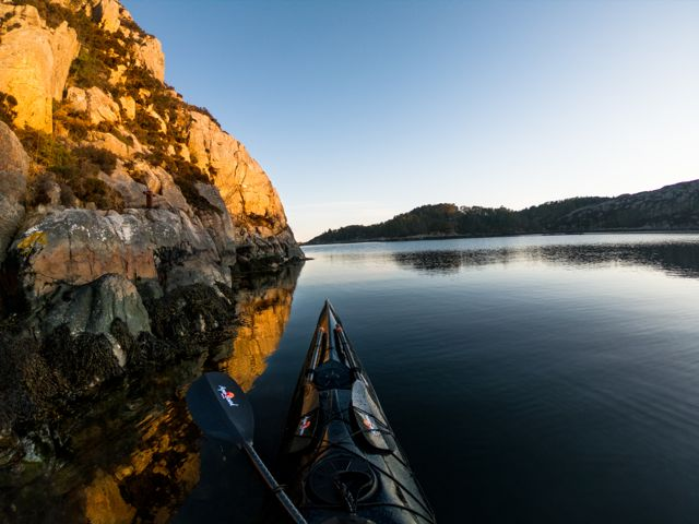 kayaker in norway