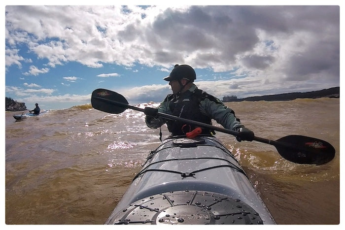 Pete Lavigne kayaks the Bay of Fundy