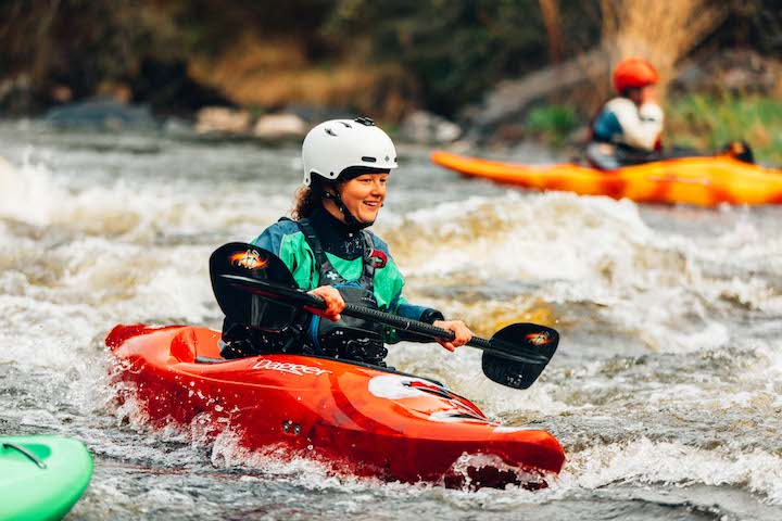 lori neufeld whitewater kayaking