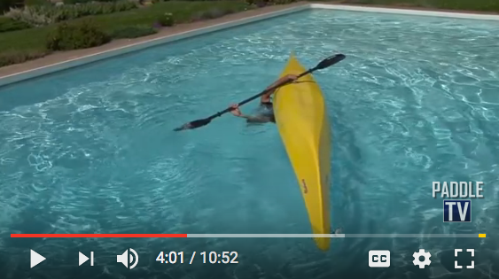 learn how to roll a kayak