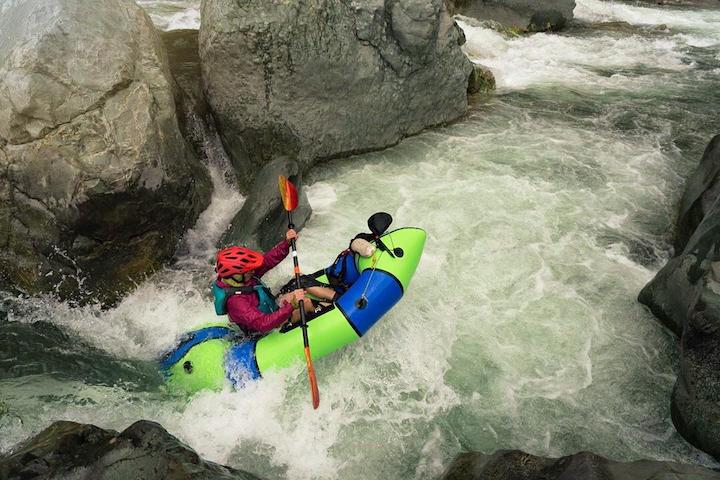 packraft safely in rapids