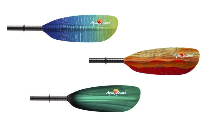 Tango kayak paddle color options