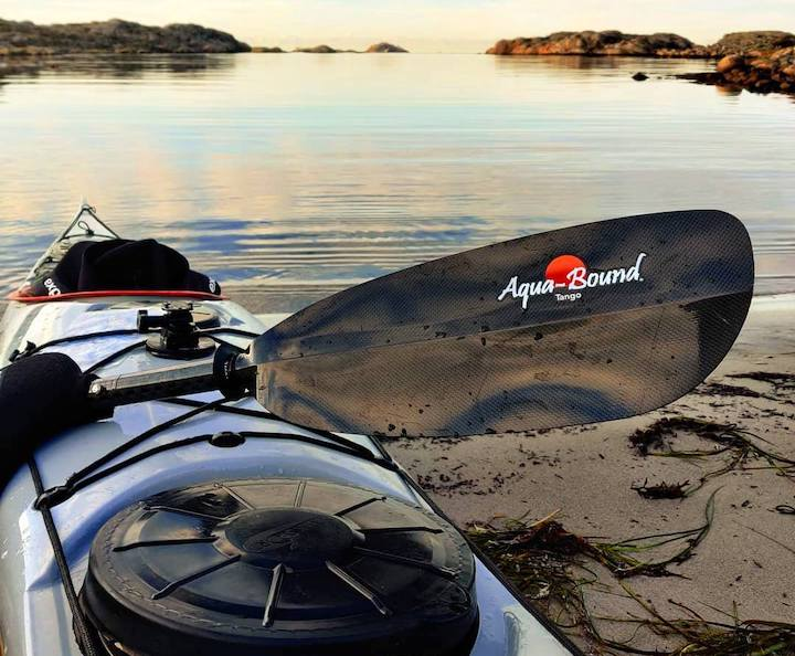 Aqua-Bound's Tango Carbon kayak paddle