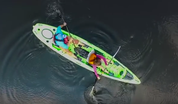 How to paddle a tandem kayak