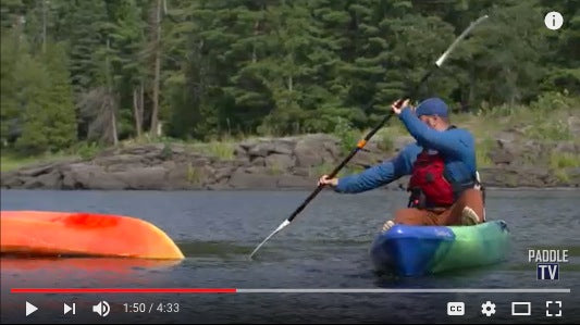 learn the draw stroke kayaking
