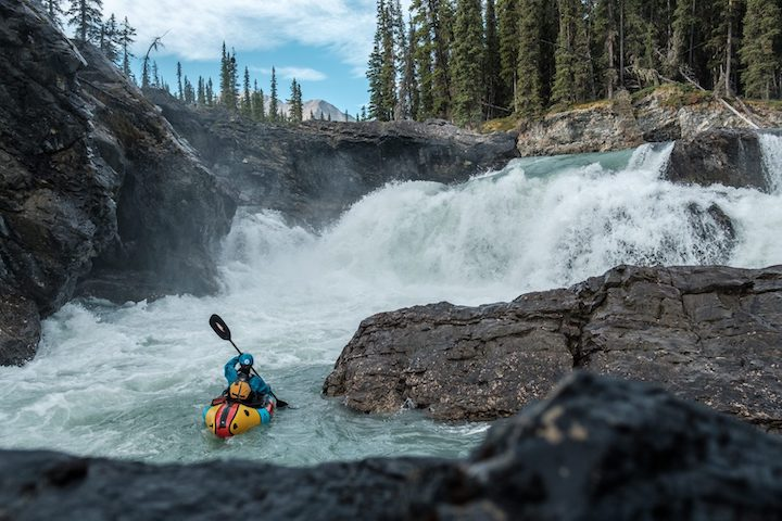 packrafting jasper national park, canada
