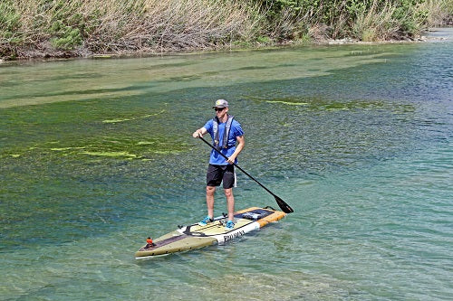 Clint Taylor, Pau Hana Endurance, Devils River, Malta Carbon, Aquabound