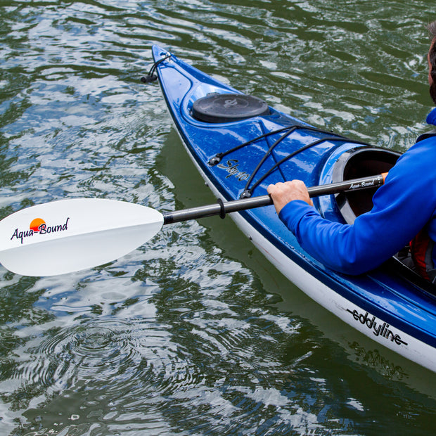 Manta Ray Hybrid<br>4-Piece Snap-Button Kayak Paddle