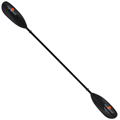 sting ray carbon 2-piece snap-button kayak paddle