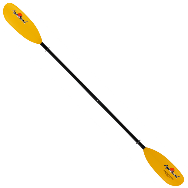 sting ray fiberglass 2-piece snap-button kayak paddle