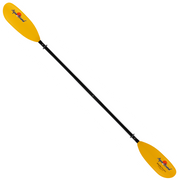 sting ray fiberglass 4-piece snap-button kayak paddle