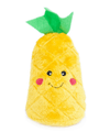 Zippy Paws Pineapple NomNomz Plush Dog Toy with Squeaker