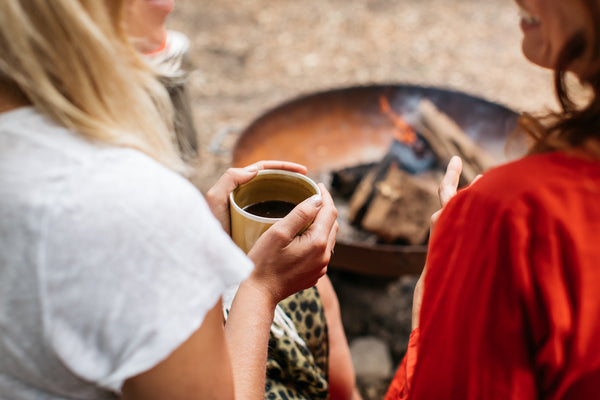 ancient brave brew human rewilding glamping