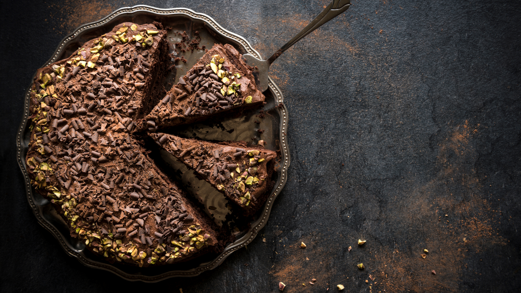 Chocolate and Goji Berry Cake - Best Cacao - Cacao + Collagen Recipe