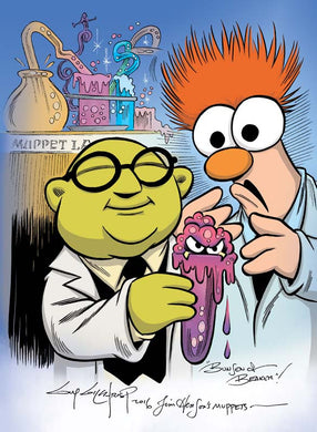Beaker and Bunsen Prin