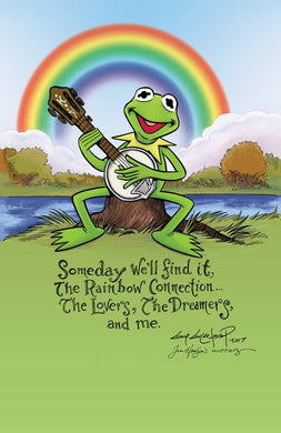 Kermit Rainbow Connection Poster