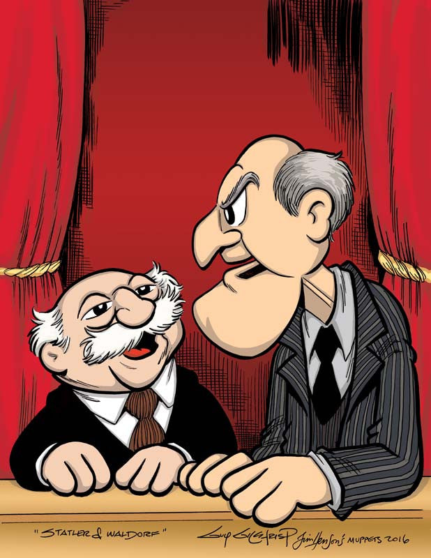 Statler and Waldorf Print