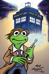Kermit as Doctor Who