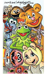 Jim Henson's Muppets 11x17 Poster