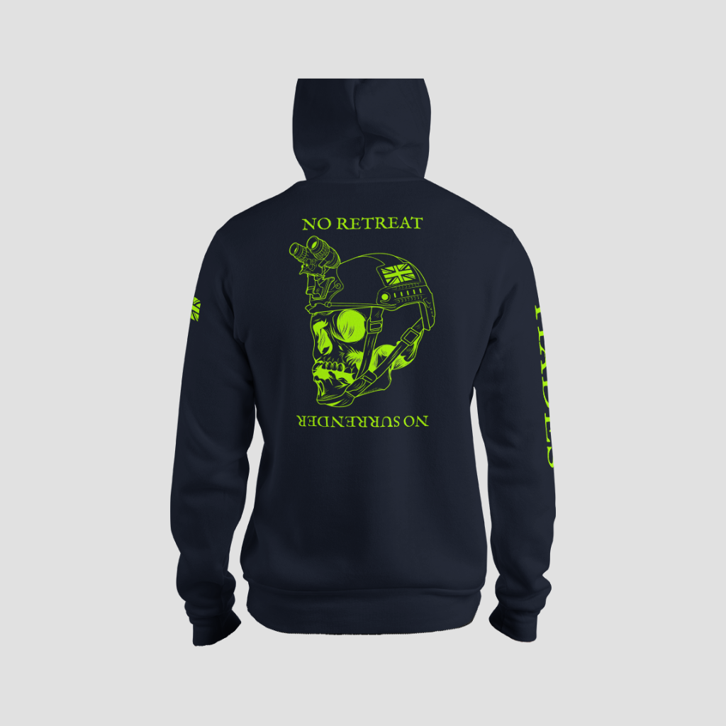 HOODIE GRN/NVY-01-48361 - Hades | Once More In to The Fray