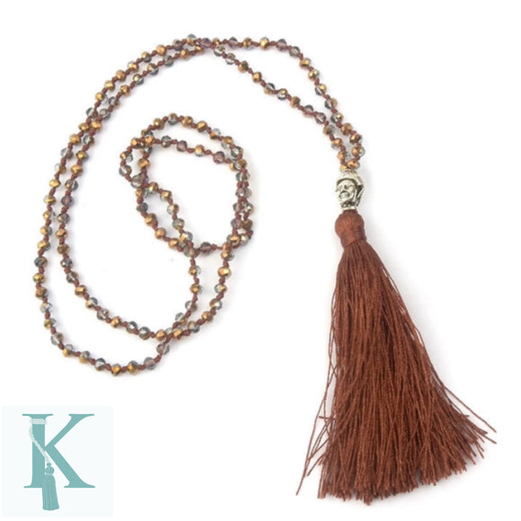 BALI NECKLACE-BROWN