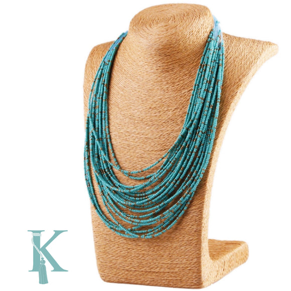 SUMMER NECKLACE-TURQUOISE