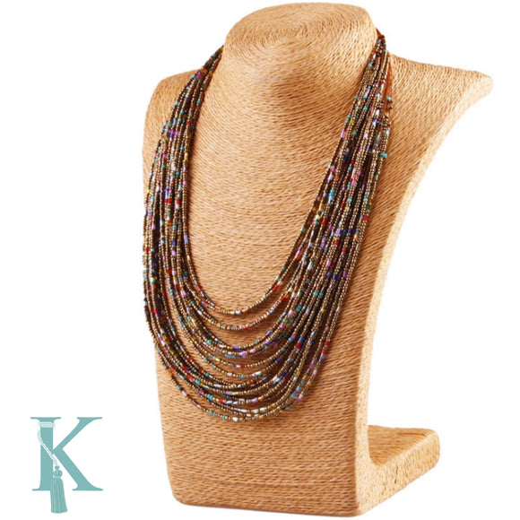 SUMMER NECKLACE-MULTICOLOR