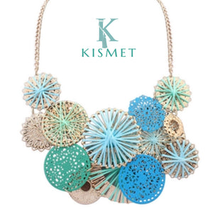 IPANEMA NECKLACE-TURQUOISE