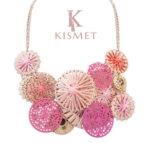 IPANEMA NECKLACE-PINK