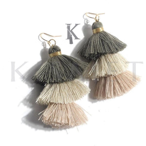 ALLEGRA EARRINGS-NEUTRAL COLORS