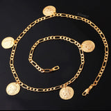 FRENCH MULTI COIN NECKLACE