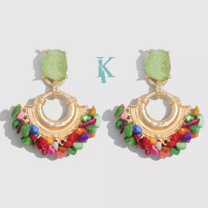 CAO EARRINGS (more colors)