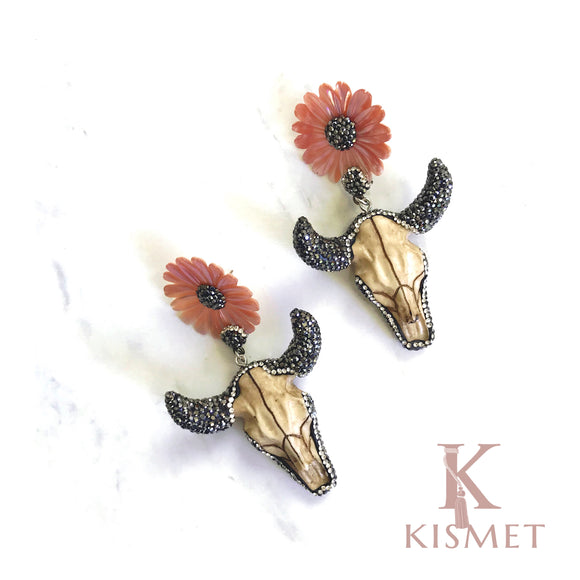 BULLHEAD EARRINGS