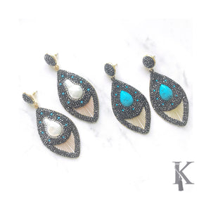MONACO EARRINGS (more colors)