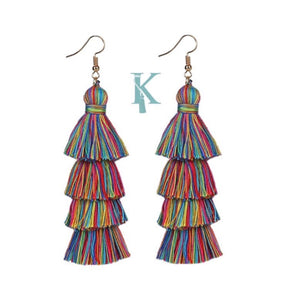 ALLEGRA EARRINGS-RAINBOW