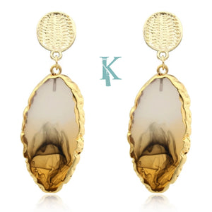 GEODE EARRINGS (more colors)