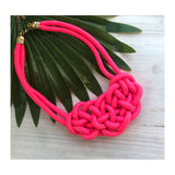 KNOT NECKLACE-MORE COLORS