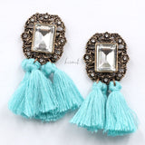 POMPOM EARRINGS (more colors)