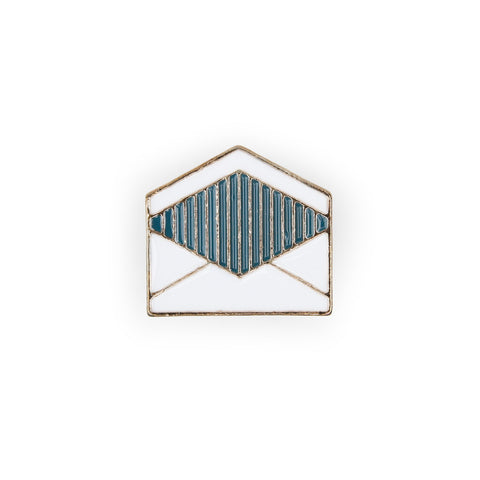 Envelope Enamel Pin