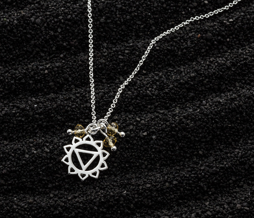 Chakra Necklace SOLAR PLEXUS Yellow