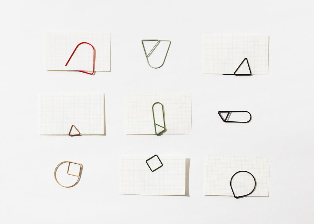 Paper Clips - Red
