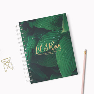 Let It Rain Evergreen 3-month Planner