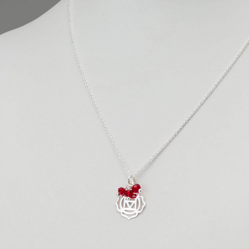 Chakra Necklace ROOT Red